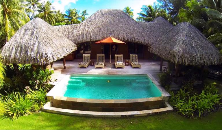 Amazing Bora Bora islands in HD