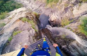 Laso-Schallers-Insane-59-Meter-Cliff-Jump