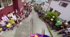 Urban-Downhill-Mountain-Bike-POV-in-Colombia